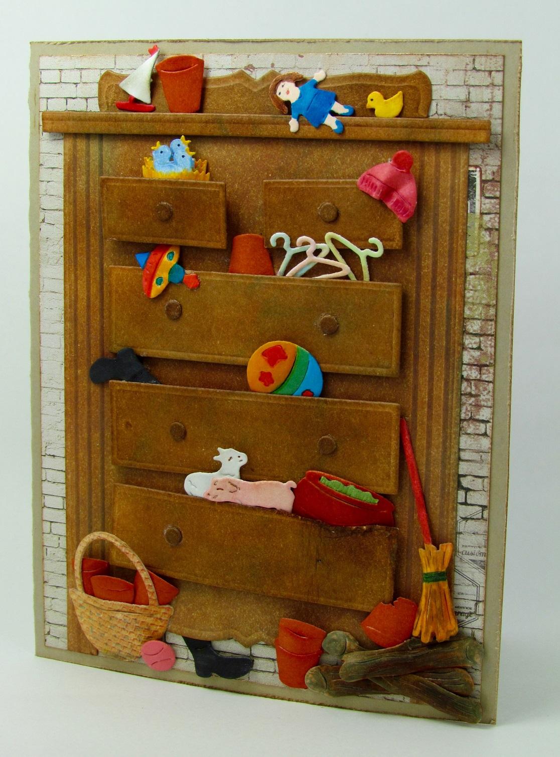 Frantic Stamper Precision Die Dresser Card Panel