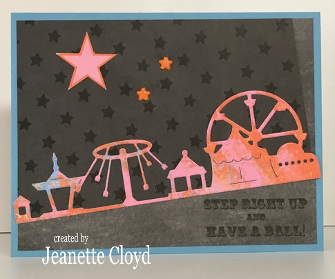 Image result for frantic stamper circus clear stamp set