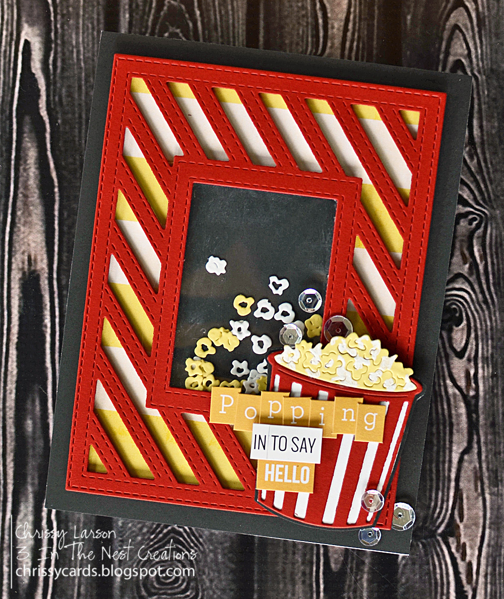 Image result for frantic stamper popcorn die
