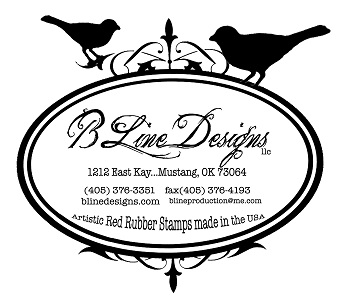 B-Line Designs Rubber Stamps