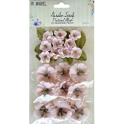 49 and Market - Paper Flowers - Garden Seeds Natural Blush