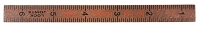 7 Gypsies - Wooden Ruler - Surveyor - Brown