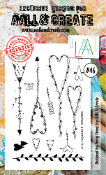 **PRE-ORDER** AALL & Create - Clear Stamp - Set #46