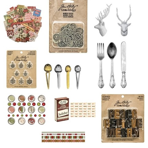 Advantus Tim Holtz Christmas items