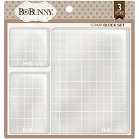 Bo Bunny - Acrylic Block set (set of 3)