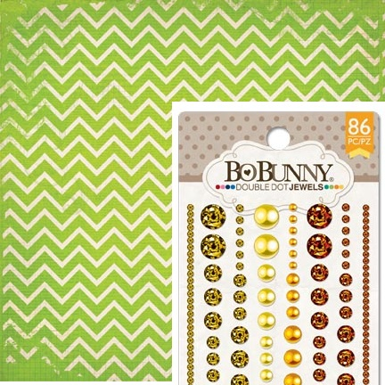 Bo Bunny - new Double Dot papers and jewels