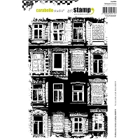 Carabelle Studio - Cling Stamp Set - A La Fenetre/At The Window