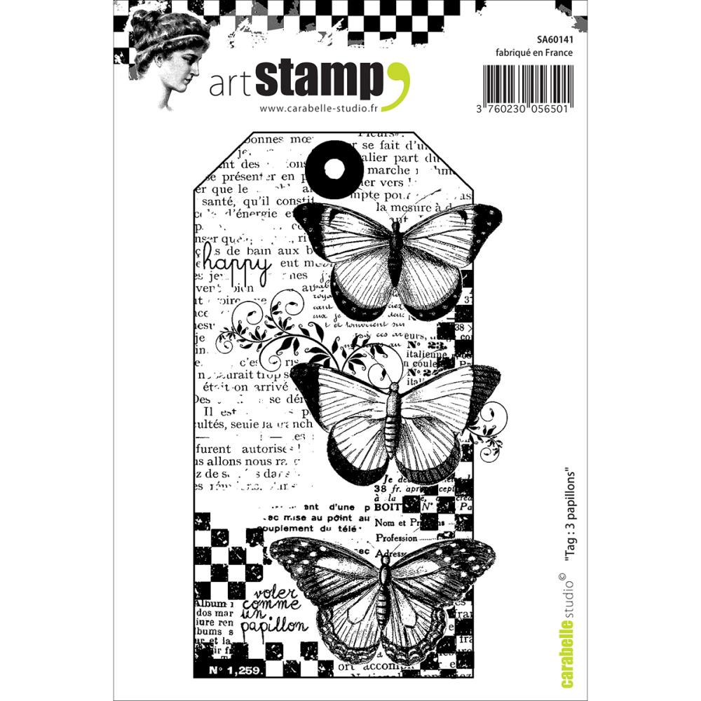 Carabelle Studio - new Clings stamps, dies & Stencils from France