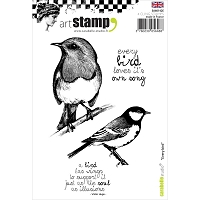 Carabelle Studio - Cling Stamp Set - Every Bird