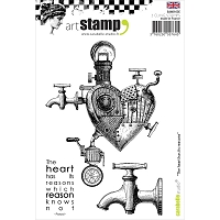 Carabelle Studio - Cling Stamp Set - The Heart Has Reasons