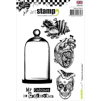 Carabelle Studio - Cling Stamp Set - Couture et Damier (Cabinet of Curiosities)