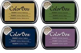 Clearsnap - 4 new colors of Colorbox Pigment inks