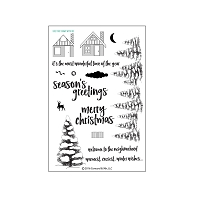 Concord & 9th - Clear Stamp - Christmas Cottage