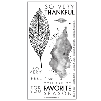 Concord & 9th - Clear Stamp - Lace Leaf