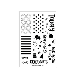 Concord & 9th - Clear Stamp - Celebrations