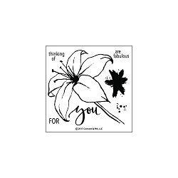 Concord & 9th - Clear Stamp - Lily