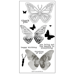 Concord & 9th - Clear Stamp - Butterfly Beauty Stamp Set