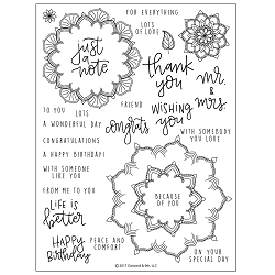 Concord & 9th - Clear Stamp - Many Mandalas