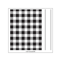 Concord & 9th - Clear Stamp - Plaid Background Stamp Set