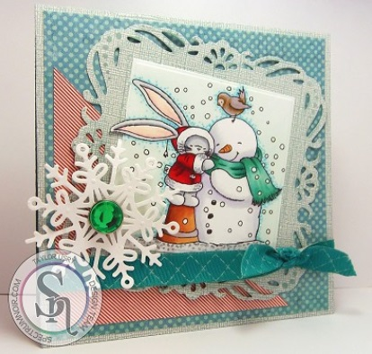 Crafter's Companion - Be Bunni Christmas stamps