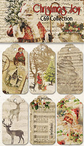Fab Scraps - Christmas Joy Collection