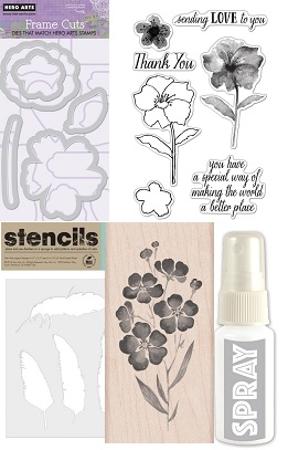 Hero Arts New Stamps Stencils And Dies