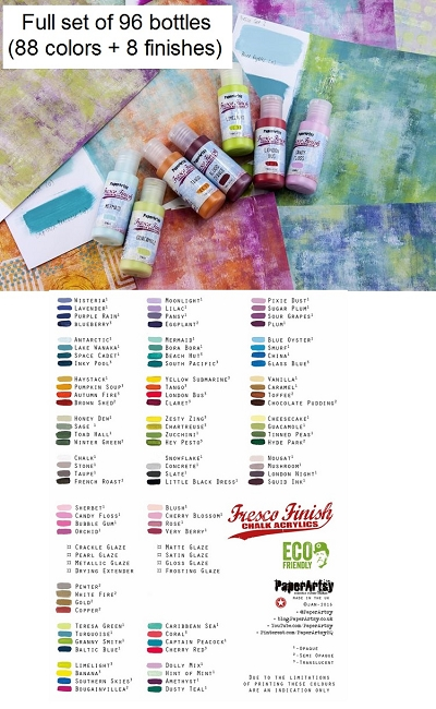 Paper Artsy - FULL set of Fresco Paints