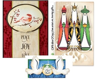 Penny Black - Christmas stamps, dies and stencils