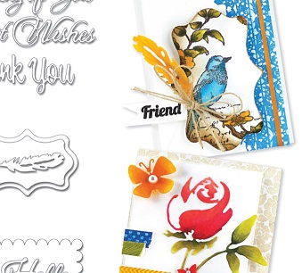 Penny Black - new stamps, dies and stencils!