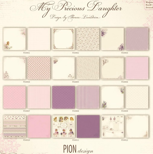 Pion Designs - My Precious Daughter collection