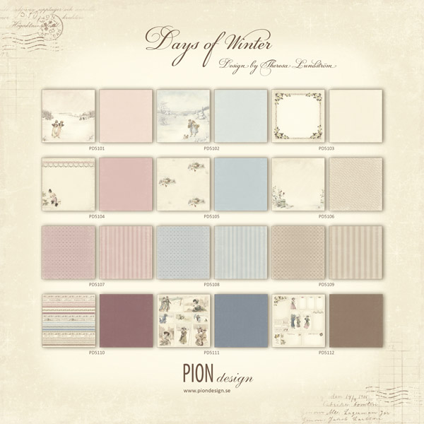 Pion - Days of Winter collection