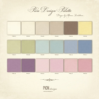 Pion - Palette Cardstock (Solid colors that coordinate with Pion's lines)