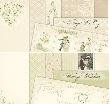 Pion Design - Vintage Wedding Collection