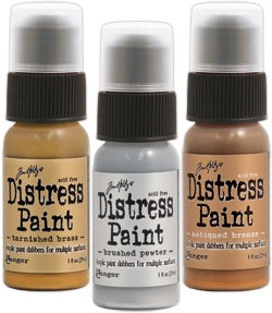 Ranger Metallic Distress Paints