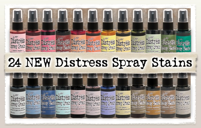 Ranger - 24 new colors Tim Holtz Distress Spray