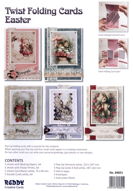 Reddy Creative Card Kits - 5 new card kits