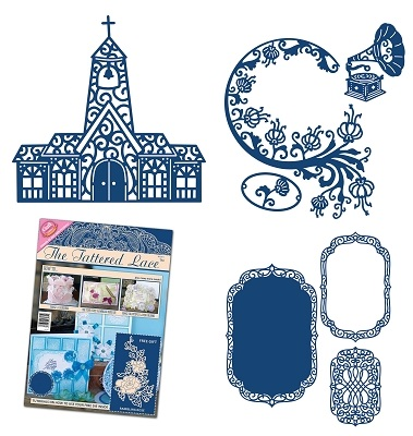 Tattered Lace - new dies + Issue 5 of magazine