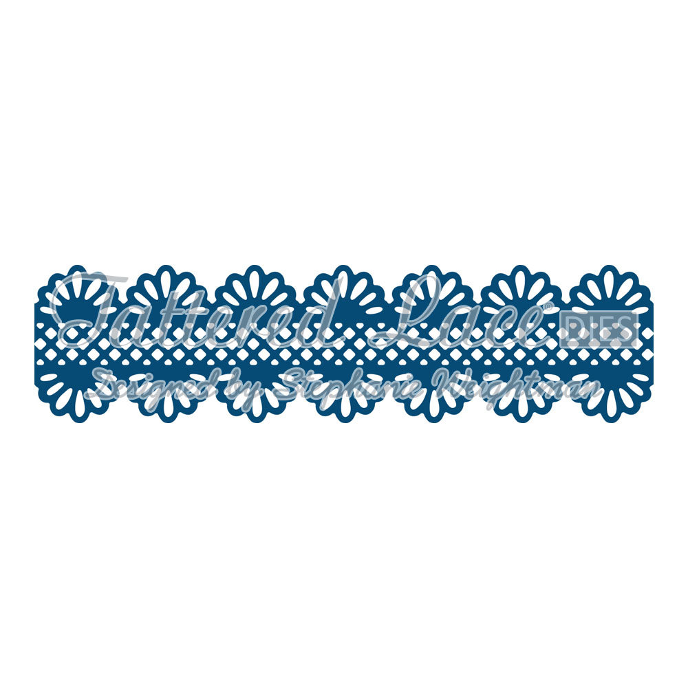 Tattered Lace Dies Lacy Scallop Border