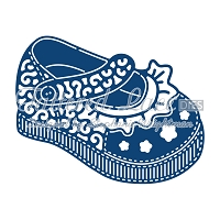 Tattered Lace - Dies - Baby Girl Shoe