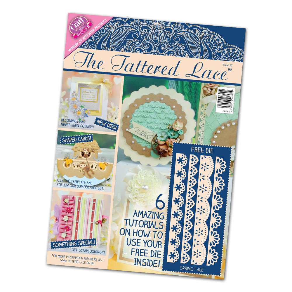 Tattered Lace - Magazine #17 + new dies!