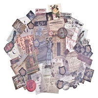 Advantus - Tim Holtz Idea-Ology - Vellum Ephemera - Thrift Shop