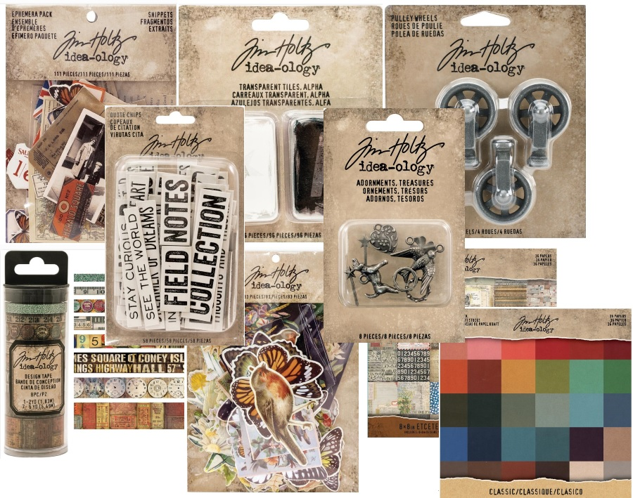 Advantus - Tim Holtz Idea-ology CHA 2017 release