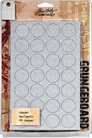 Tim Holtz Grungeboard Shapes - Harlequin