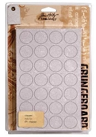 Tim Holtz Grungeboard Shapes - Swirls