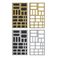 Advantus - Tim Holtz Idea-ology - Metallic Label Stickers