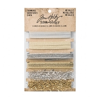 Advantus - Tim Holtz Idea-ology - Metallic Trimmings