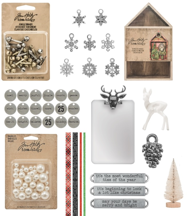 Advantus - Tim Holtz Idea-ology Christmas 2016 release
