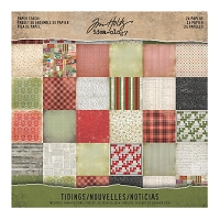 Advantus - Tim Holtz Idea-ology - Christmas Time Mini Stash Tidings 8