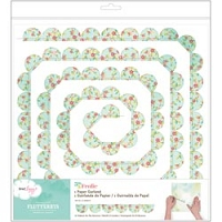 American Craft - 5th & Frolic Collection - Flutterbys Paper Garland - Scallop