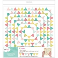 American Craft - 5th & Frolic Collection - Flutterbys Paper Garland - Pennant